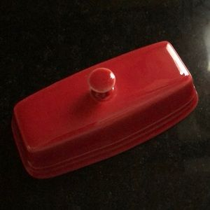 Fiesta red replacement butter dish top